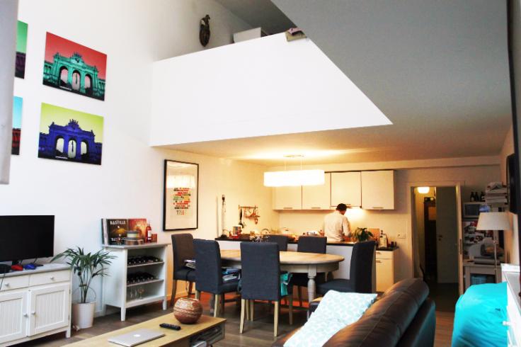 Duplex de 1façade à louerà Schaerbeek auprix de 935€ - (6582897)