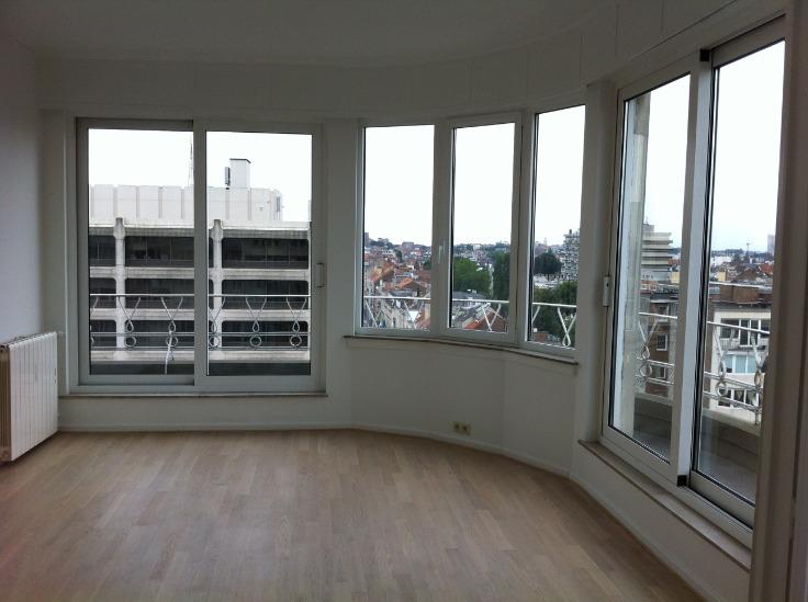 Penthouse de 3façades à louerà Ixelles auprix de 1.250€ - (6584264)
