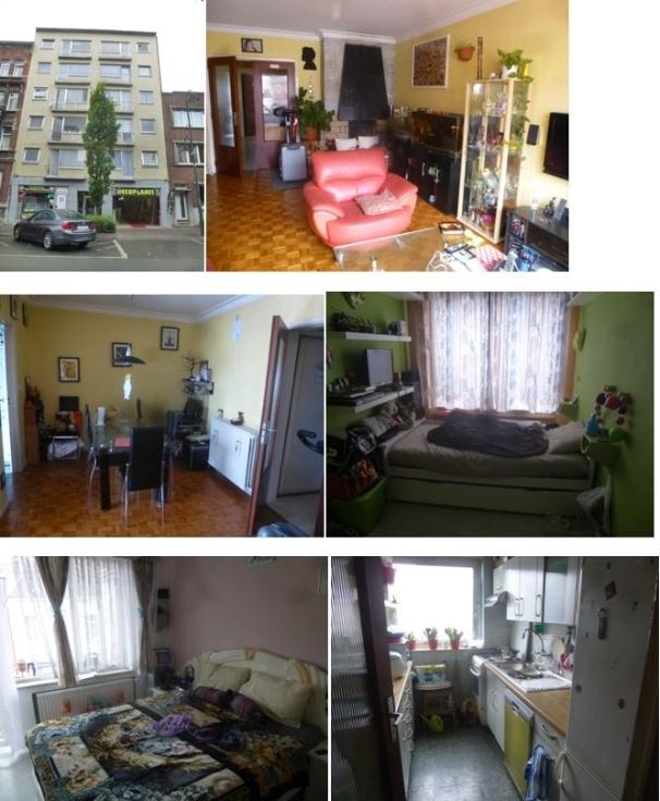 Appartement de 2façades à louerà Molenbeek-St-Jean auprix de 750€ - (6588587)
