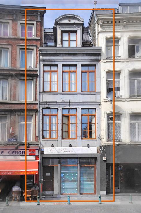 Appartement van 2gevels te huurte Liège voor550 € -(6597519)
