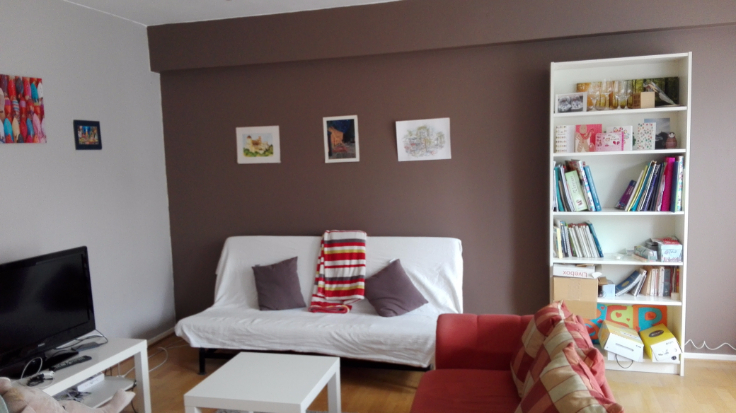 Appartement with 1frontage for rentin Liège auprix de 550€ - (6608330)