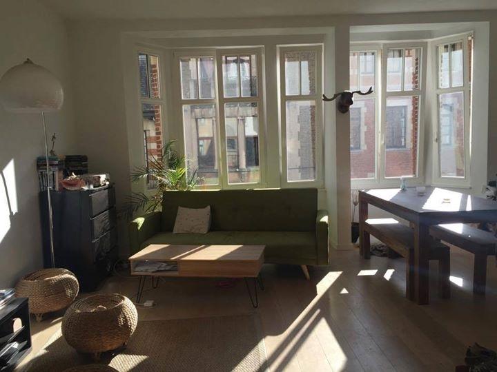 Appartement de 2façades à louerà Ixelles auprix de 890€ - (6614001)