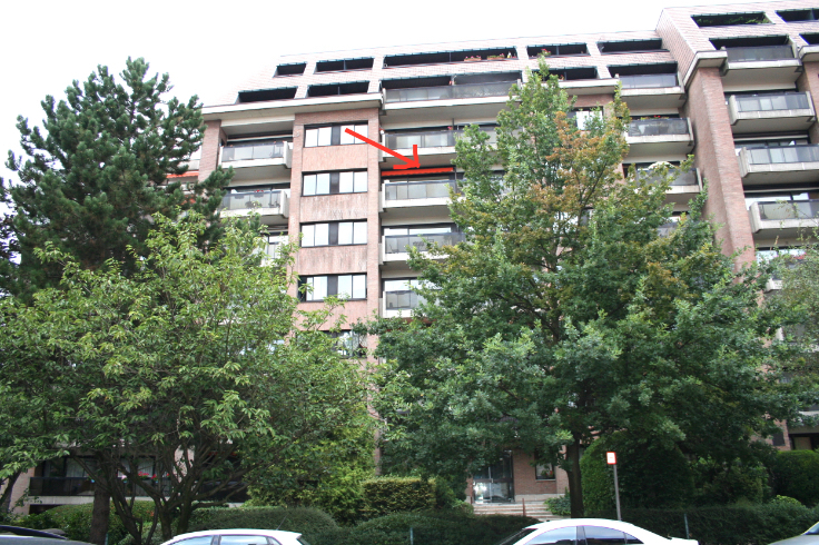 Appartement de 2façades à louerà Schaerbeek auprix de 875€ - (6618624)