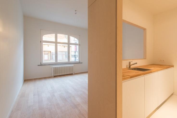 Appartement de 2façades à louerà Etterbeek auprix de 850€ - (6618658)