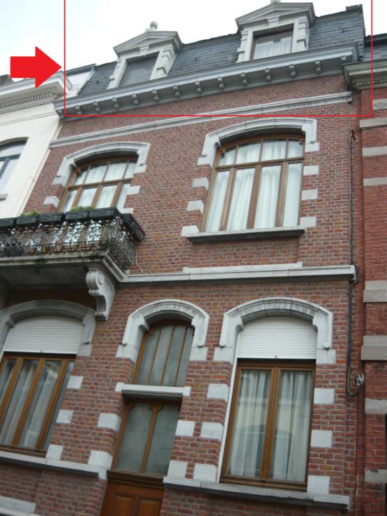 Appartement de 2façades à louerà Namur auprix de 600€ - (6621059)