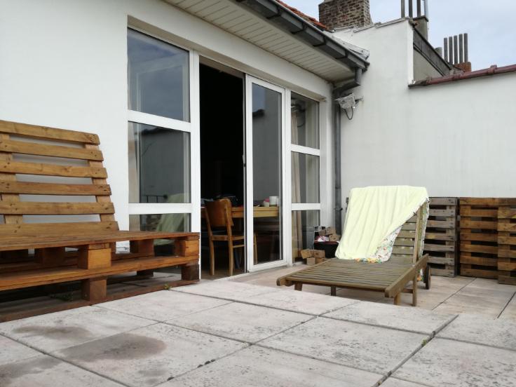 Duplex van 2gevels te huurte Ixelles voor800 € -(6622908)