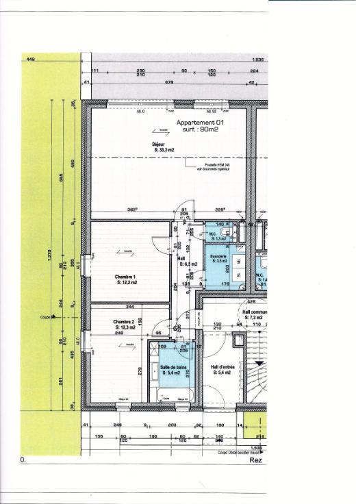 Appartement with 3frontages for rentin Seraing auprix de 840€ - (6627040)