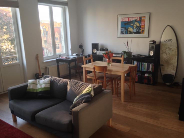 Appartement de 2façades à louerà Gand auprix de 790€ - (6631527)