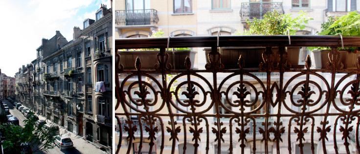 Appartement de 2façades à louerà St-Gilles auprix de 850€ - (6636006)