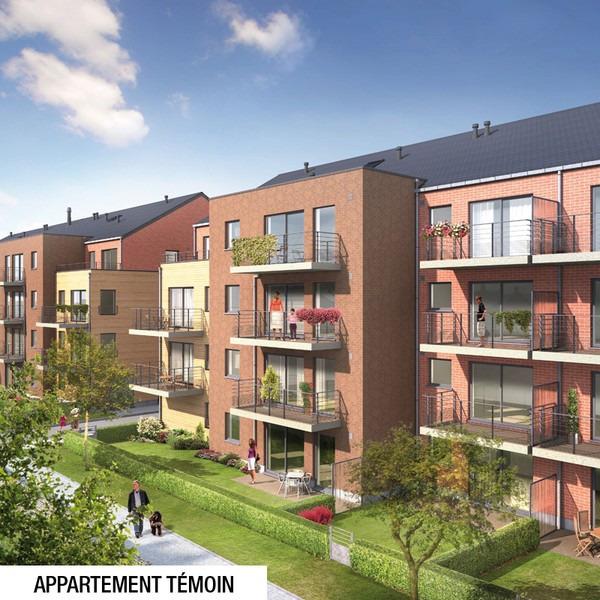 Appartement de 2façades à louerà Tournai auprix de 650€ - (6642931)