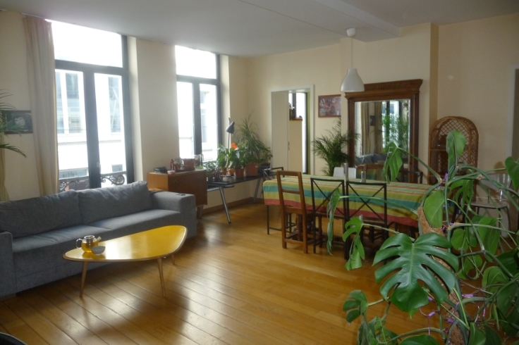 Appartement de 2façades à louerà Bruxelles villeau prix de870 € -(6643538)