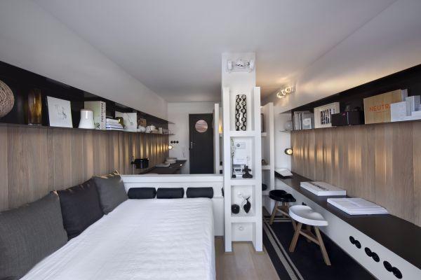 Flat/Studio van 2gevels te huurte Ixelles voor600 € -(6644096)