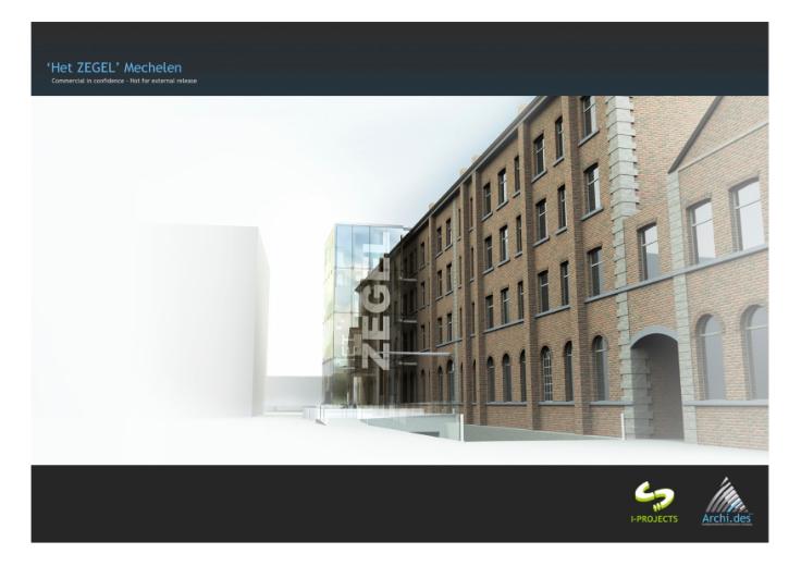 Immeuble de bureauxvan 4 gevelste huur teMalines voor 42.000€ - (6649023)