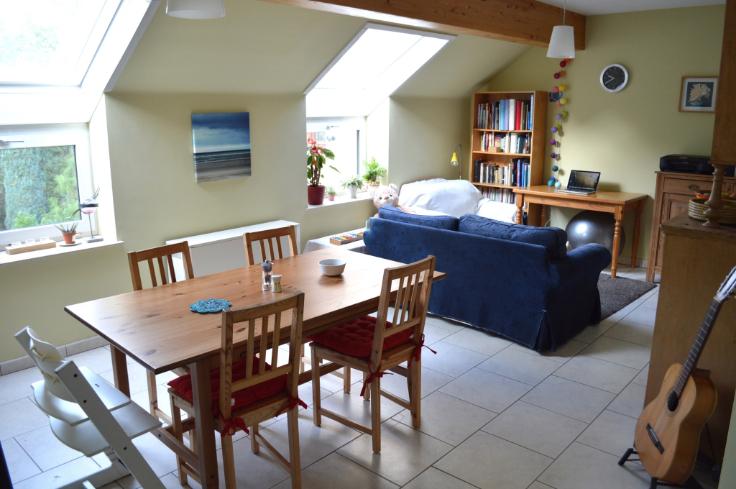 Appartement van 2gevels te huurte Mont-St-Guibert voor750 € -(6653751)