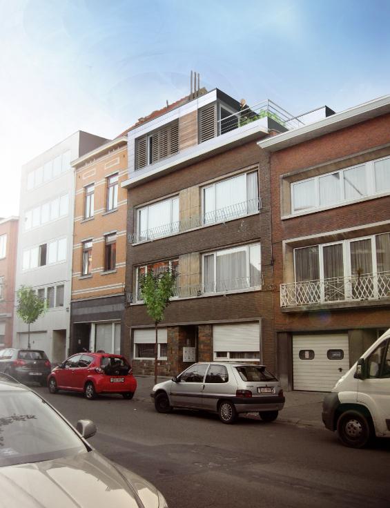 Appartement de 2façades à louerà Evere auprix de 780€ - (6662723)