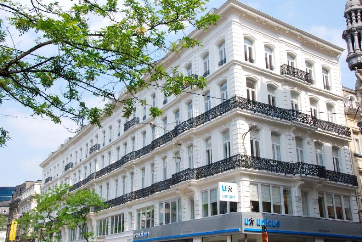 Appartement de 2façades à louerà Bruxelles villeau prix de695 € -(6668001)