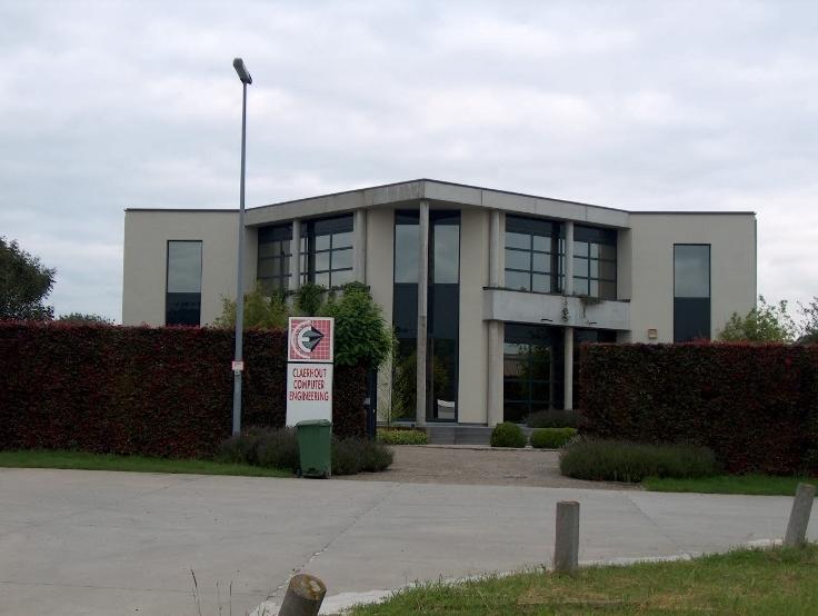 Bureaux de 4façades à louerà Oosterzele auprix de 48.000€ - (6687718)