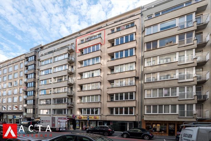 Appartement de 2façades à vendreà Ostende auprix de 159.000€ - (6690997)