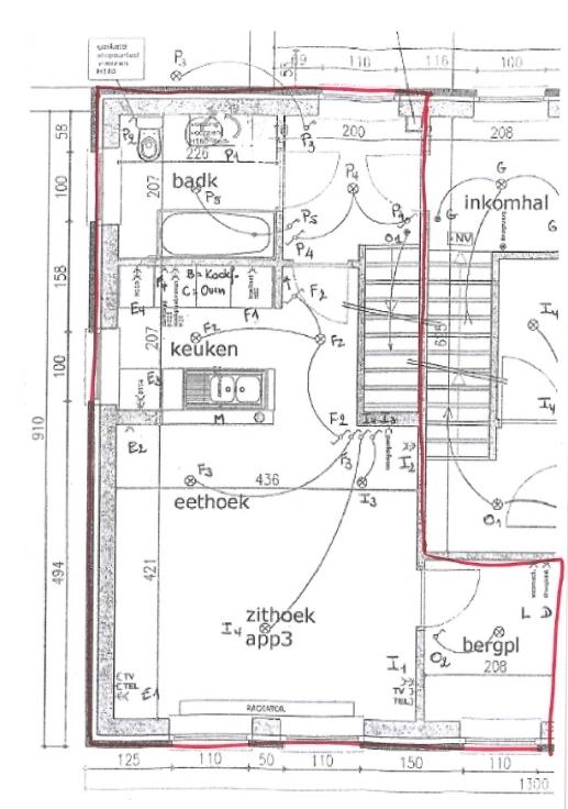 Duplex de 3façades à louerà Rummen auprix de 595€ - (6714603)