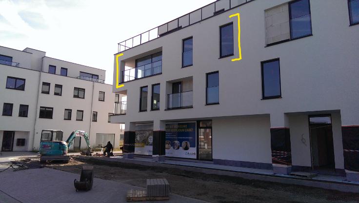 Appartement de 2façades à louerà Destelbergen auprix de 850€ - (6714832)