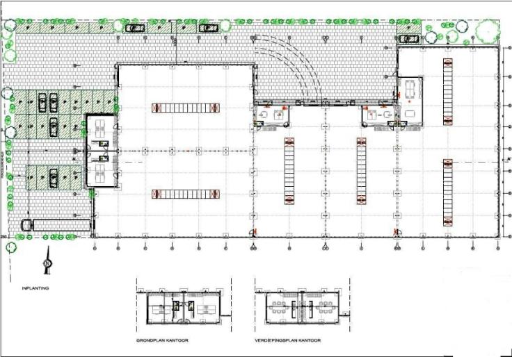 Industrieel gebouw forrent in Malleau prix de75.000 € -(6889184)