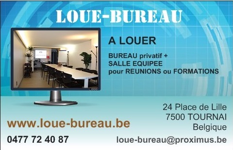 bureau louer hainaut province. Black Bedroom Furniture Sets. Home Design Ideas