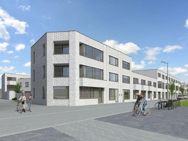 Nieuwbouw appartement deurne verkoop cp 2100 for Appartement te koop deurne