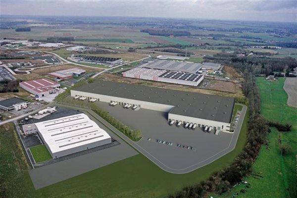Industrieel gebouw van4 gevels tehuur te Courcellesvoor 474.996 €- (7101712)